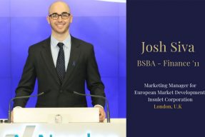 Pitt Business alum Josh Siva
