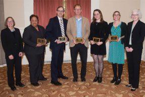 Award recipients of Diversity in Curriculum Award