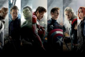 Photo of the Avengers team of superheroes